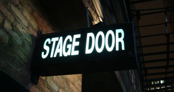 Stage Door Etiquette